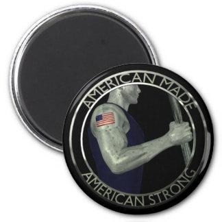 El americano hizo fuerte americano imanes