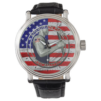 El americano hizo fuerte americano relojes de mano