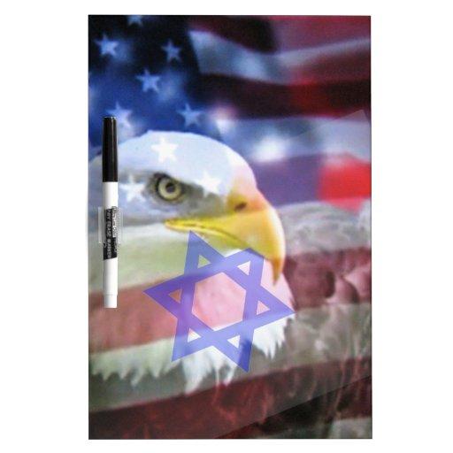 El americano judío pizarras blancas de calidad