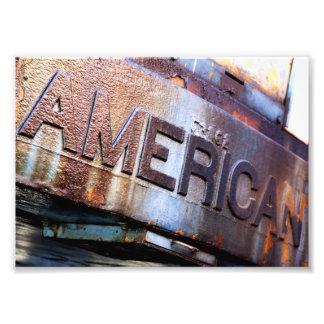 El americano impresiones fotográficas