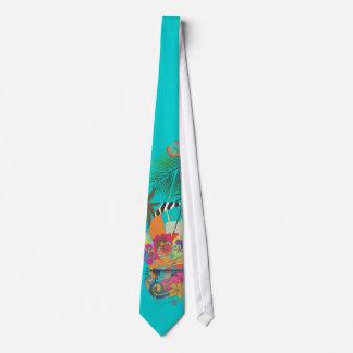 El AMI Tai, Luau de PixDezines en la playa/el Corbata Personalizada