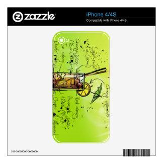 El AMI Tai - Regalo del cóctel iPhone 4S Skins