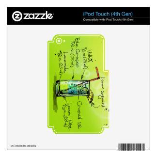El AMI Tai - Regalo del cóctel iPod Touch 4G Skin
