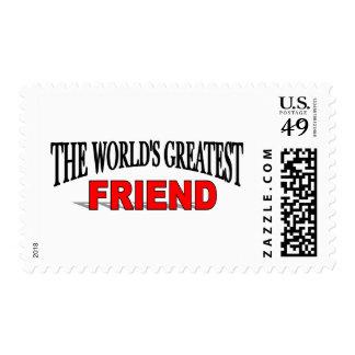 El amigo más grande del mundo estampillas