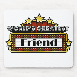 El amigo más grande del mundo tapetes de ratón