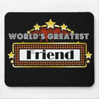 El amigo más grande del mundo tapetes de raton