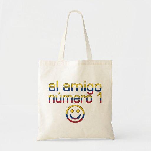 El amigo Número 1 del EL en bandera colombiana col Bolsa
