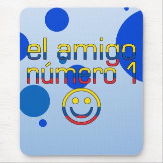 El Amigo Número 1 in Ecuadorian Flag Colors 4 Boys Mouse Pad