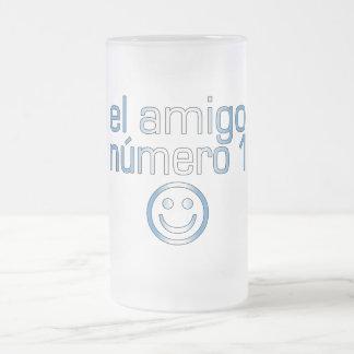 El Amigo Número 1 in Guatemalan Flag Colors 4 Boys Mug