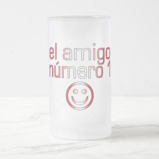 El Amigo Número 1 in Peruvian Flag Colors for Boys Coffee Mug