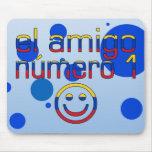 El Amigo Número 1 in Venezuelan Flag Colors 4 Boys Mouse Pad