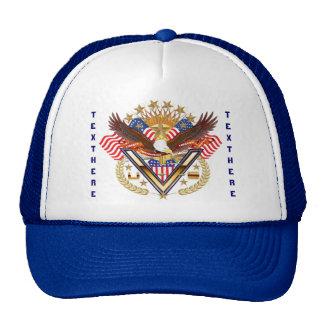 El amigo o el miembro de la familia del veterano v gorra