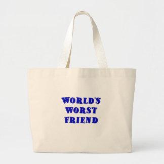 El amigo peor de los mundos bolsas de mano