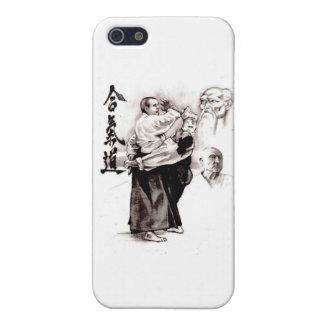 El amo de un aikido - uso de la energía del opp iPhone 5 funda