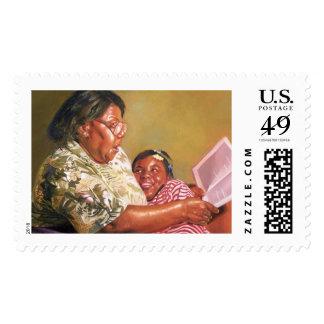 El amor 1995 de la abuela timbres postales