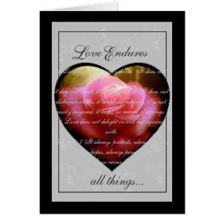 El amor aguanta felicitaciones