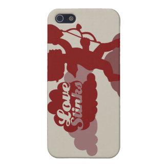 El amor apesta iPhone iPhone 5 Carcasas