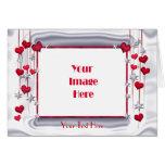 El amor brilla a la tarjeta del día de San Valentí