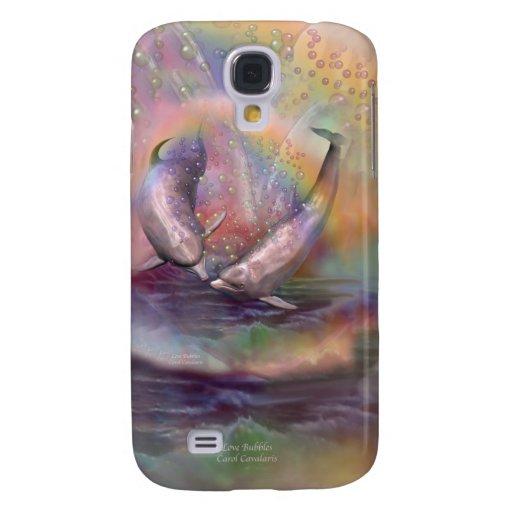 El amor burbujea caso del arte para el iPhone 3