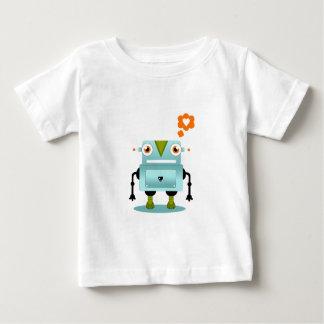 El amor caprichoso y artístico del robot embroma t-shirt