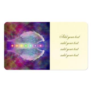 El amor, chakra, ángel, dios, curador, curando, tarjetas de visita