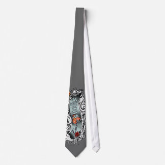 El amor chupa adornado corbatas personalizadas