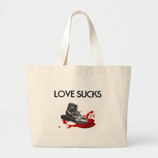 El amor chupa bolsa de mano