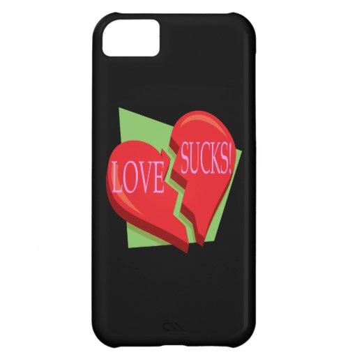 El amor chupa funda para iPhone 5C