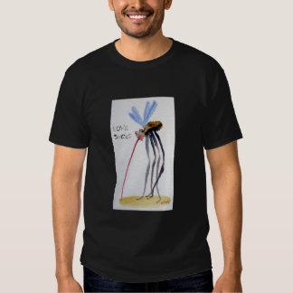 El amor chupa la camiseta remeras