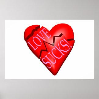 El amor chupa posters