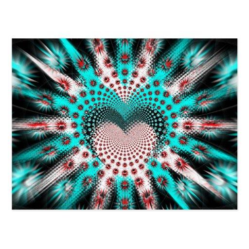 El amor clava la persona hipnotizada tarjetas postales