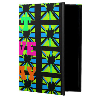 El amor come la caja del iPad del color de Hakuna