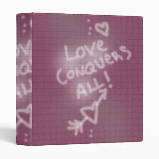 """El amor conquista toda la pintada en la pared de carpeta 1"""""""