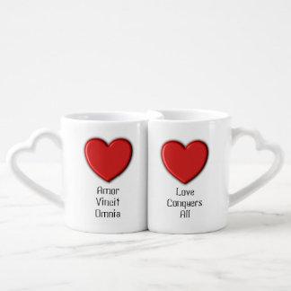 """El amor conquista todas las """"TAZAS de CAFÉ de los Taza Para Parejas"""