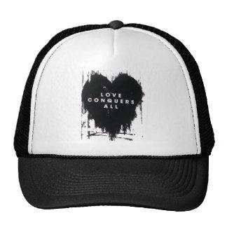 El amor conquista todos gorras