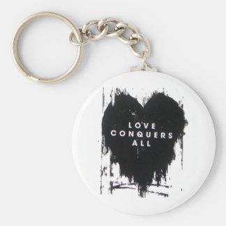 El amor conquista todos llaveros