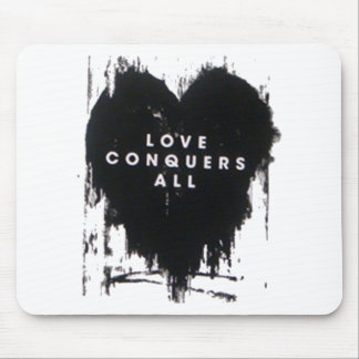 El amor conquista todos tapete de raton