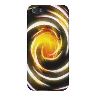 El amor cósmico incorpora el caso de Whirlpool Iph iPhone 5 Protectores