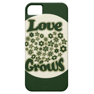 El amor crece iPhone 5 carcasas