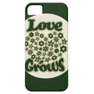 El amor crece iPhone 5 funda
