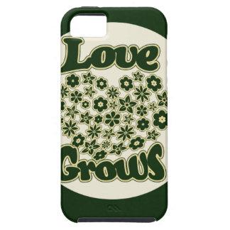 El amor crece iPhone 5 carcasa
