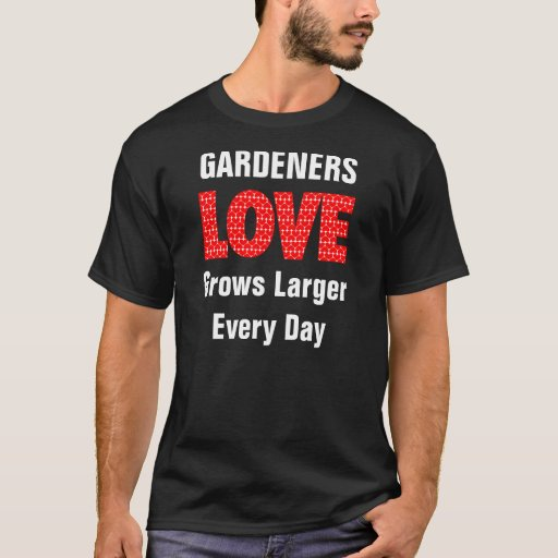 El amor crece playera
