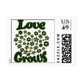 El amor crece franqueo