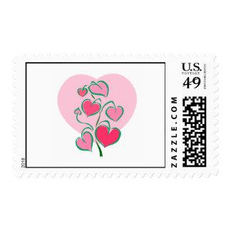 El amor crece sellos
