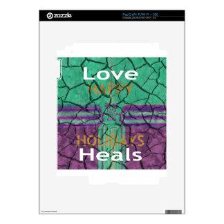 El amor cura calcomanías para el iPad 2