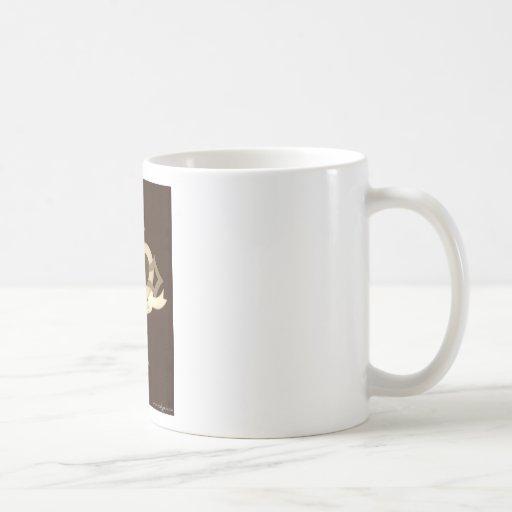 El amor cura seguramente - sepia tazas de café
