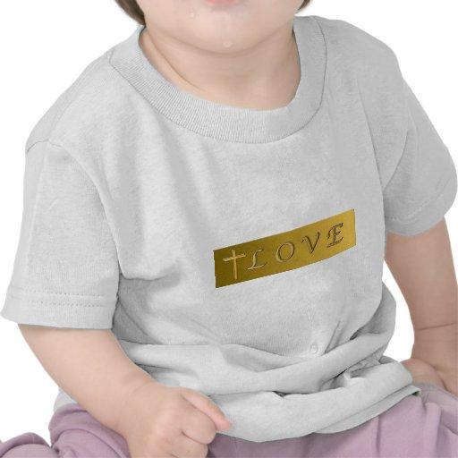 El amor de dios camiseta