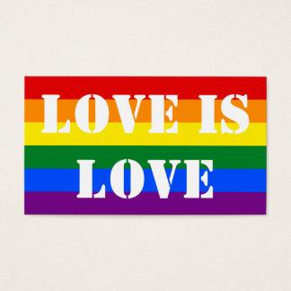 El amor de encargo del orgullo gay LGBT de la Tarjetas De Visita