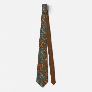 El amor de la caída deja arte del modelo de corbata personalizada