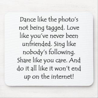 El amor de la danza canta la parte mouse pad